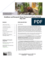 May 2008 Newsletter - Healthcare and Therapeutic Design Professional Practice Network