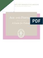 Age Fertility