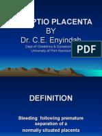 Abruptio Placentae 2