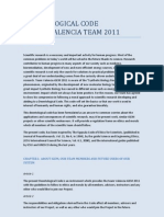 Deontological Code of iGEM Valencia 2011