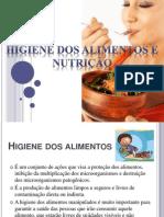 higiene dos alimentos e nutrição