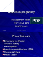 Malaria in Pregnancy 2