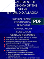 Management of CA Vulva 2