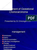 Management of Choriocarcinoma