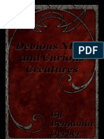 Pathfinder - Devious NPCs and Curious Creatures