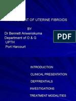 Management of Uterine Fibroid 2