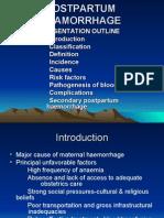Postpartum Heamorrhage