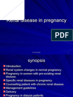 Renal Disease in Preg