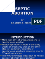 Septic Abortion