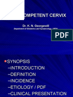 The Incompetent Cervix 1