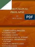 Uterovaginal Prolapse
