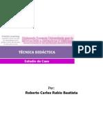 Estudio de Caso M Learning - Roberto Carlos Rubio Bautista