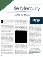 Freddie Mercury - King of Queen