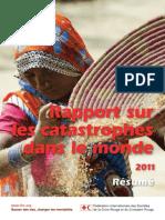 Rapport sur les catastrophes dans le monde 2011 - résumé