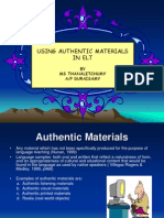 Using Authentic Materials in Elt 2
