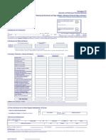 Formato Solicitud de Devolución de IR - 701  Ver1.5