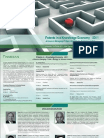 Patents in a Knowledge Economy 2011