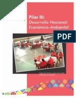Pilar Numero 3 Desarrollo Nacional Economico Ambiental