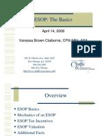 Esops Basics