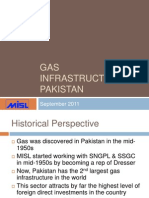Gas Infrastructure in Pakistan