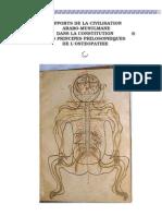Apports de La Civilisation Arabo-musulmane Dans La Constitution Des Principes Philosophiques de l'Osteopathie