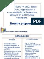 Decreto 74 2007