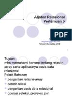 6.Aplikasi_ALjabar_Relasional