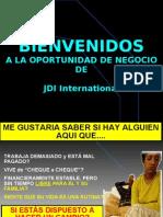 Presentacion de la oportunidad de negocio con JDI