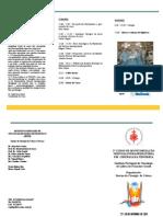 3º Curso de Monitorização Nervosa Intraoperatória em Cirurgia da Tiroideia - Folheto