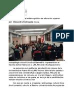 20-04-11 Limitado el acceso al sistema público de educación superior