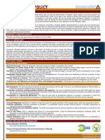Rwanda's Aid Policy Overview
