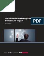 ARK1800 - Social Media Marketing Strategies for Bottom Line Impact_Part Report