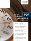 Whitepaper Test Automation Tool Evaluation