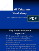 6437971 Email Writing Ettiquettes