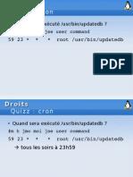 Quizz Linux 5-Cron