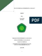 Profil Guru Dan Murid Menurut Al-ghazali