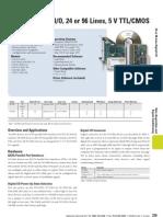 DAQ NI PCI-6509 Datasheet