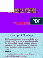 Judicial Forms