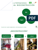 Posibilidades y limitaciones de la Bioconstrucción