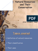 Natural Resources and Their Management