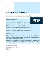 Barazimet Lineare    www.valmirnuredini.tk