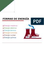 FORMAS DE ENERGÍA