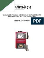 Manual Astra 100