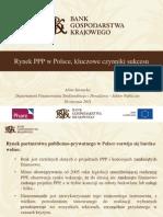 Pres BGK Sarnacka Rynek PPP w Polsce Czynniki Sukcesu 012611