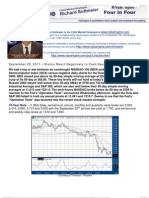 Stocks React Negatively to Cash Neutral Operation Twist