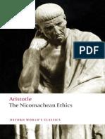 Nicomachean Ethics [David Ross Translation]