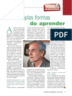 As Multiplas Formas de Aprender