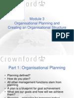 Management Functions Module 3