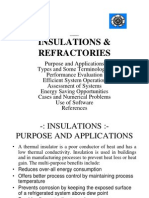 2012 Lecture BKC Insulations & Refractory