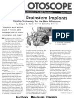 Auditory Brain Implants